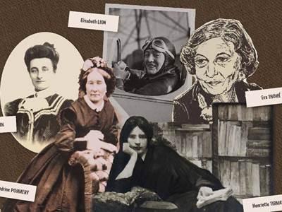 """Exposition itinérante """"Portraits de femmes remarquables des Ardennes"""""""