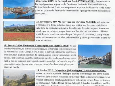 """Les séances """"De par le Monde"""" du Cercle des collectionneurs de Signy l'Abbaye"""