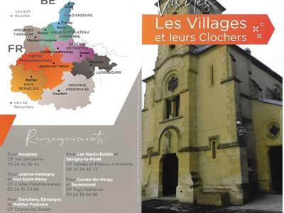 Visite de village et de leur clocher à Les Hauts-Buttés