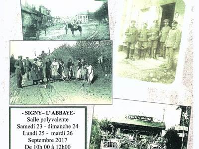 Exposition - Le canton de Signy l'Abbaye sous l'occupation allemande 1914 - 1918