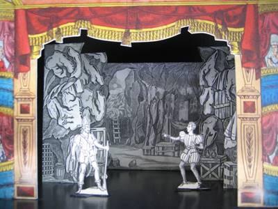 """Exposition """" Le Théâtre de Papier en France"""""""