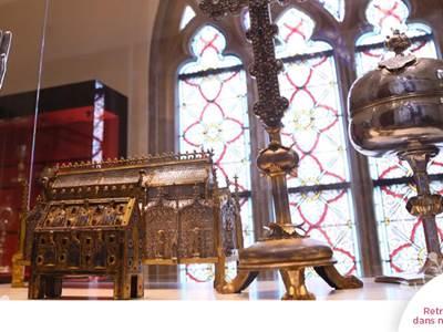 Visite guidée Ville d'Art et d'Histoire: Basilique de Mézières, vitraux et trésor