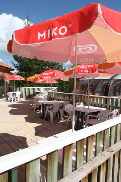 Les Chalets de la Margeride Terrasse bar 2