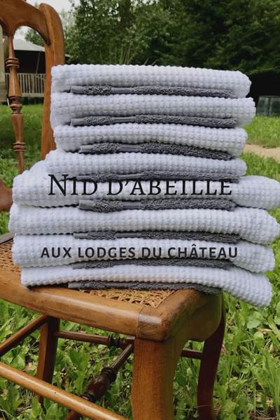 OPTION LINGE DE TOILETTE LES LODGES DU CHATEAU