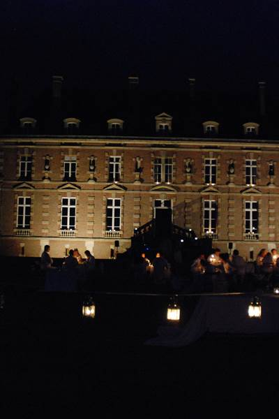 Dîner en blanc au Château d'Auteuil