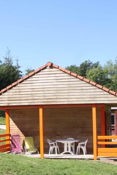 Chalet 22 double terrasse 2