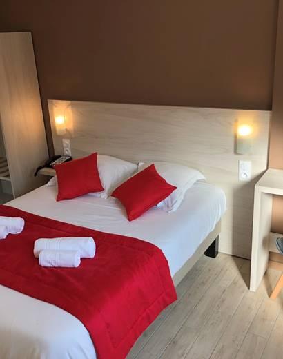 Chambre double patio, à Boulazac, aux portes de Périgueux