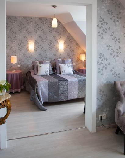 Suite Junior Hôtel de Kerlon Plouhinec Morbihan