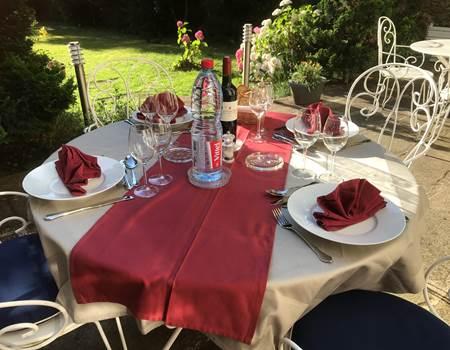 Le Jardin des Lys - table d'hôte au Jardin