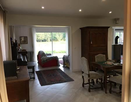 Gite des frères Montgolfier - entrée & salon