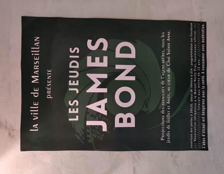 James Bond website poster