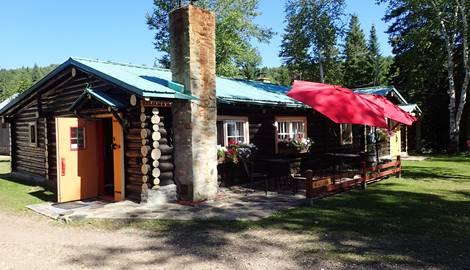Le Restaurant au Domaine le Bostonnais à la Tuque, en Mauricie, Canada