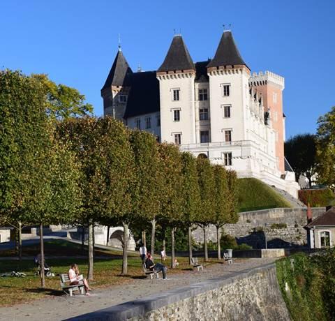 Balade à Roulettes - Le tour du château de Pau