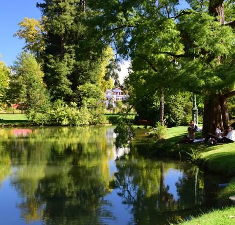 Pau, de parcs en jardins - Côté est