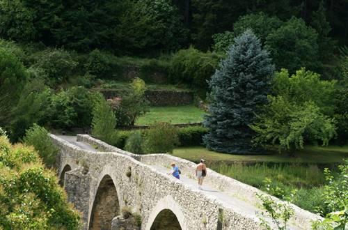 Mialet: Pont des Camisards © CDT GARD