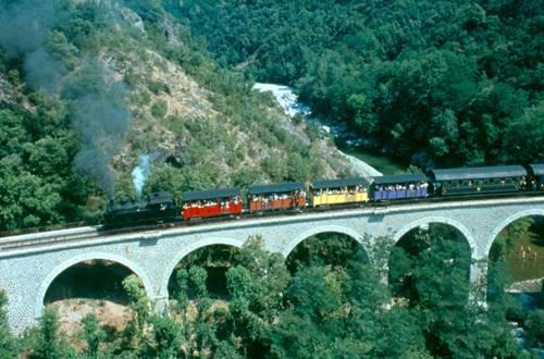 Train à vapeur des Cévennes ©