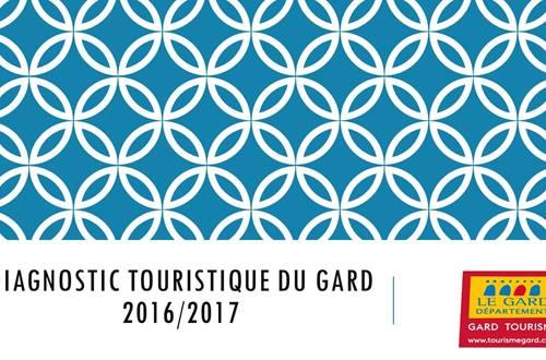 Diagnostic touristique du Gard  © Service Observatoire