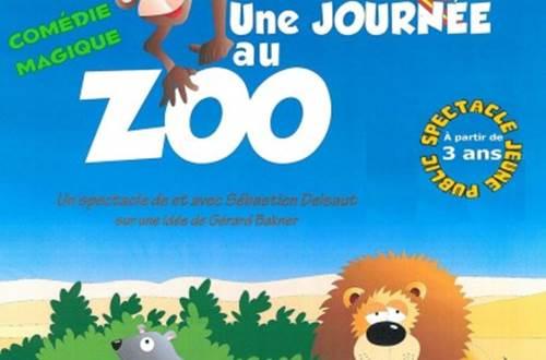 affiche une journée au zoo ©