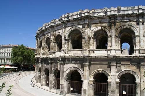 Arènes de Nîmes, GARD ©