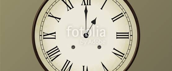horloge 13h