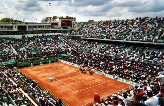 Sortie Roland Garros