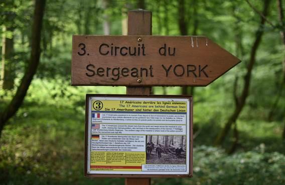 Circuit historique du Sergent York