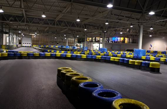 pistes karting