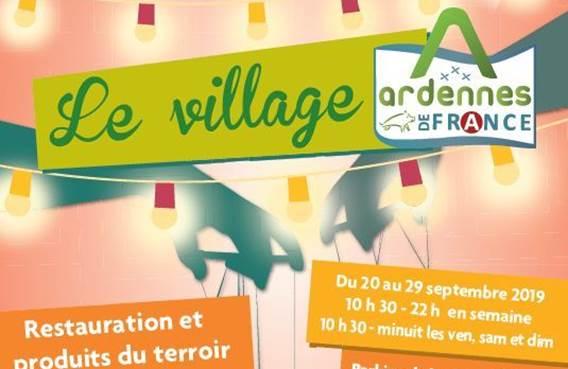 village ardennes de france