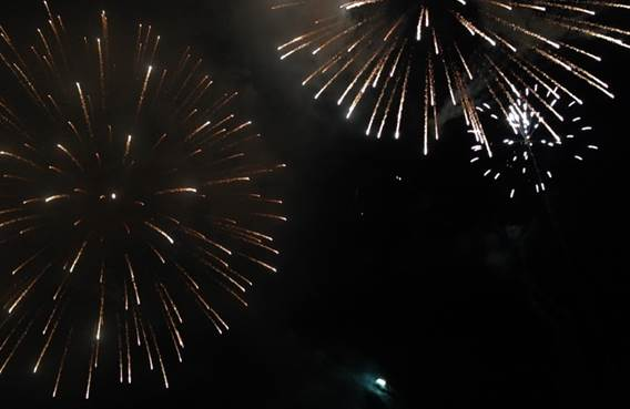 Feu d'artifice Fest'in Haybes