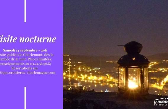 Visite nocturne Charlemont