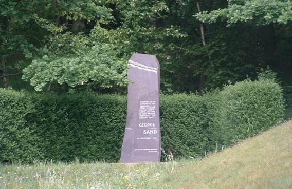Stèle George Sand