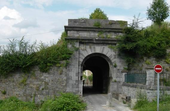 La porte de Rancennes