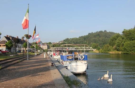 Halte fluviale Fumay