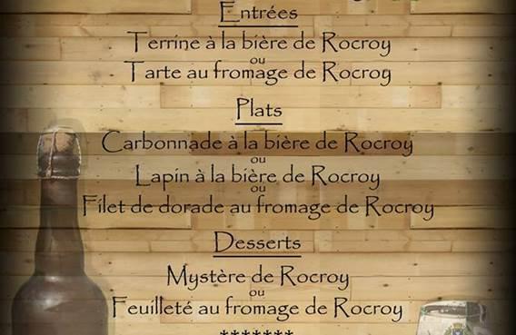 Menu spécial Rocroy