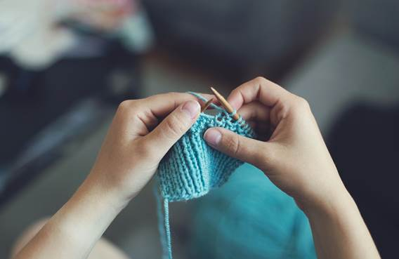 Atelier tricot solidaire