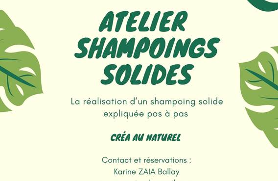 Atelier shampoings solides