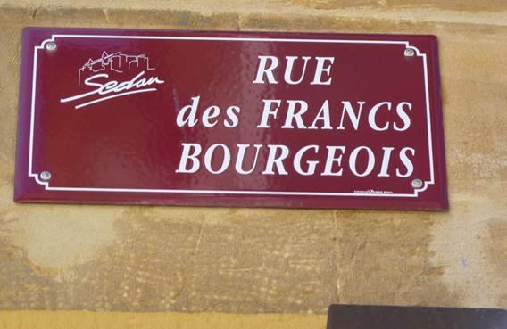 VAH Sedan : Le nom des rues dans le quartier de Villers