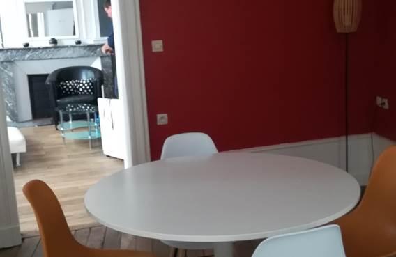 salle à manger et salon