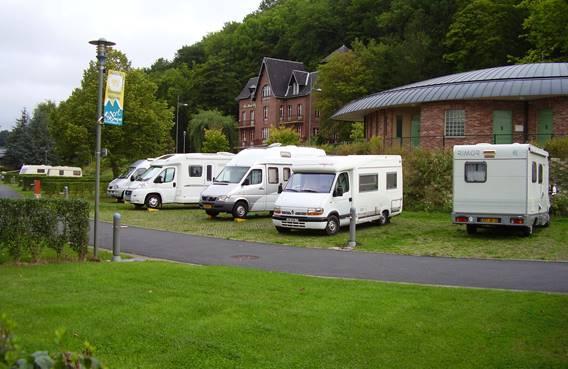 Aire de camping-car de Charleville-Mézières