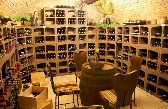 Cave du restaurant