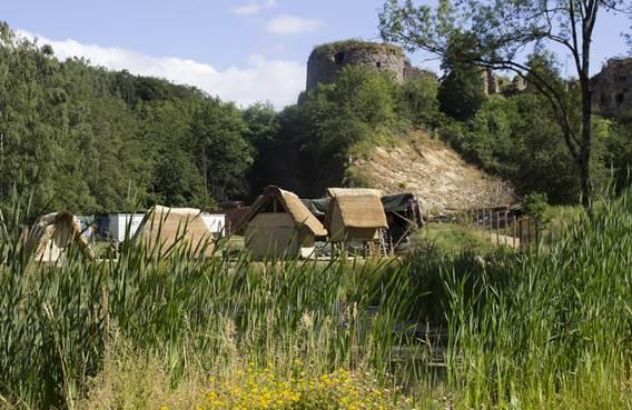 étang et villages