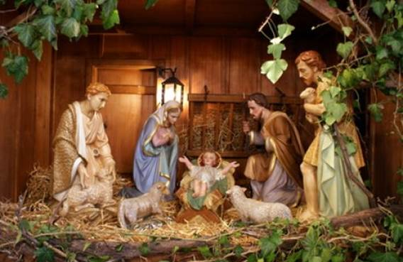 Le chemin des Crèches à Saulces Monclin