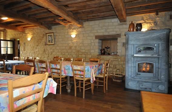 Auberge du Moulin de Gironval - intérieur