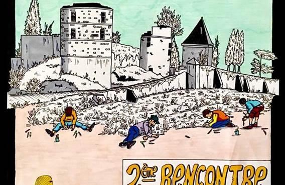 Les artistes au château