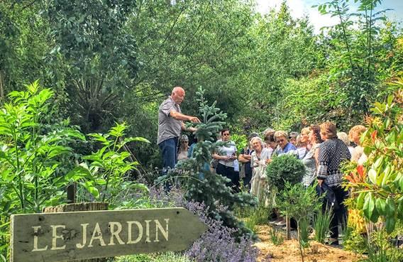 Tourisme de savoir faire - visite du jardin d'Hubert
