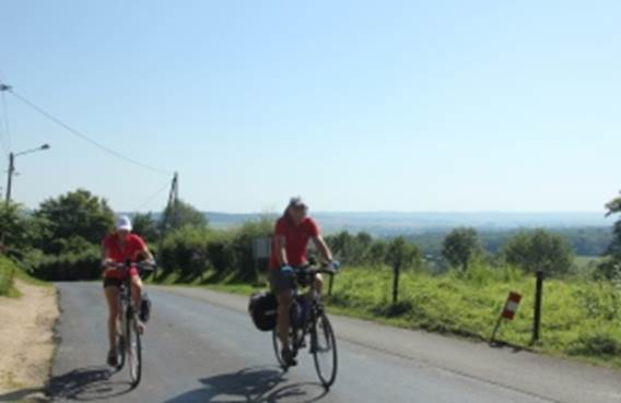 Circuit cyclotourisme Balade sur