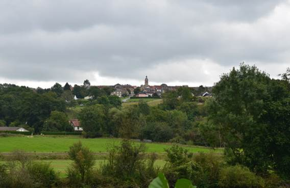 vue sur Aiglemont