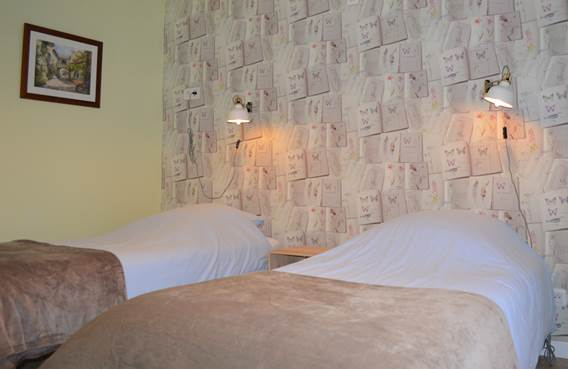 Mostarlic guesthouse- chambre