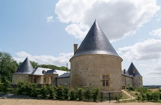 Chateau de Charbogne en 2015