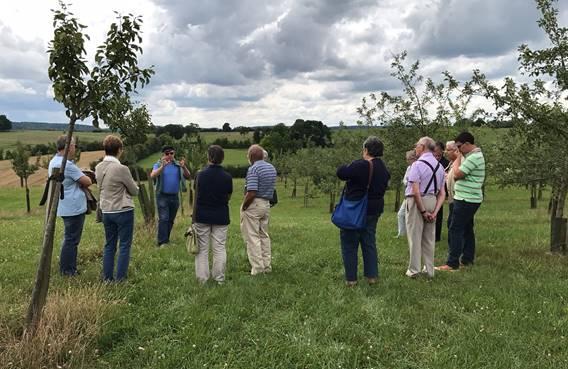 Journée dans les Crêtes Préardennaises : Visite de la cidrerie de Warnécourt, déjeuner, visite du jardin d'Hubert